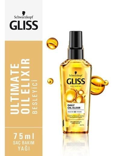 Gliss Gliss Oıl Elıxır Günlük Bakım Yağ Iksırı 75 Ml Renksiz